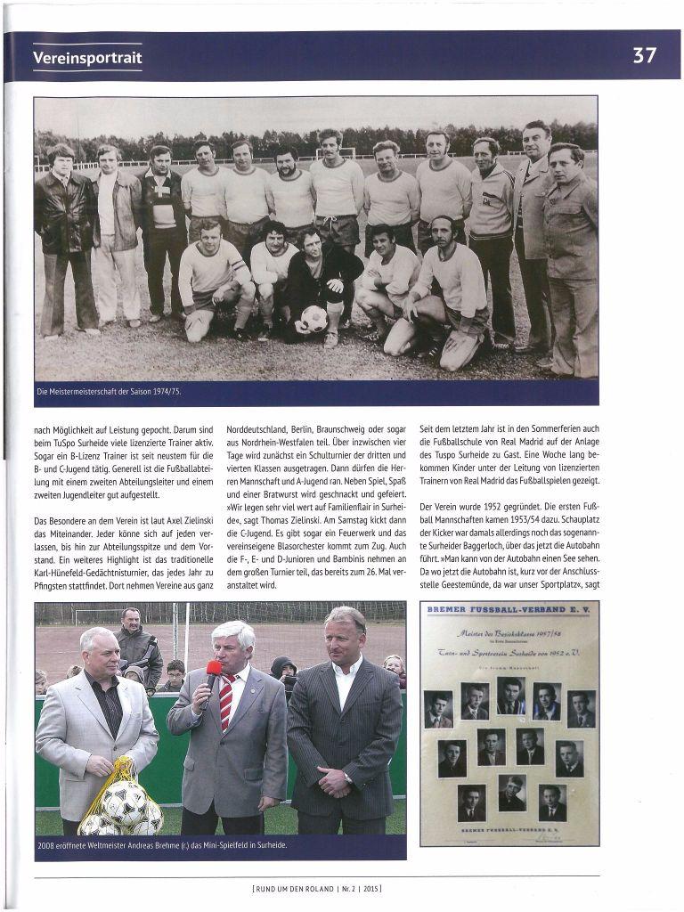 k-Fußball TuSpo Surheide 1